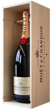 Moët & Chandon Brut Impérial in kist 1,5 ltr.