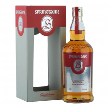 Springbank Aged 25 Years Old Limited Edition 2017