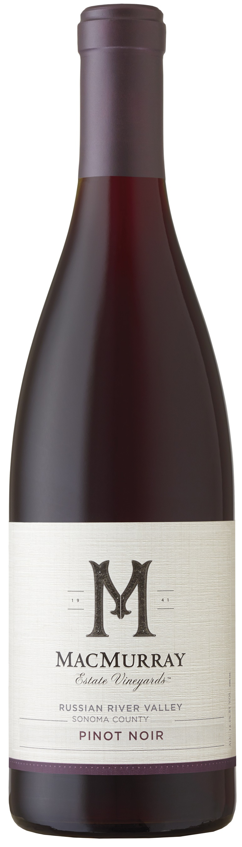 MacMurray Estate Vineyards  Russian River Valley  Pinot Noir
