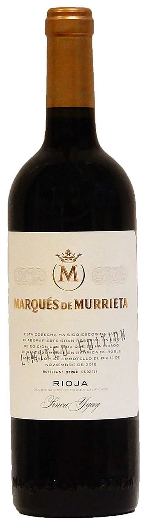 Marqués de Murrieta  Gran Reserva  Limited Edition